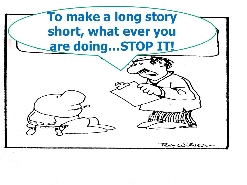 To make a long story short, what ever you are doing…STOP IT!