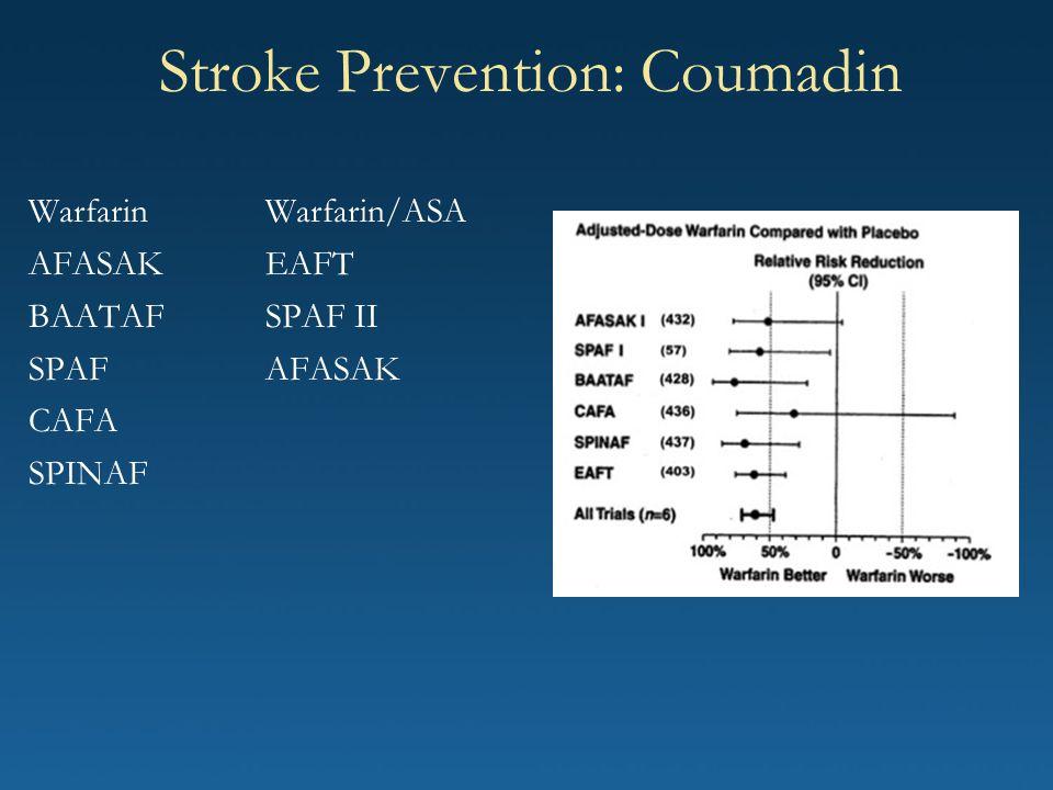 Stroke Prevention: Coumadin