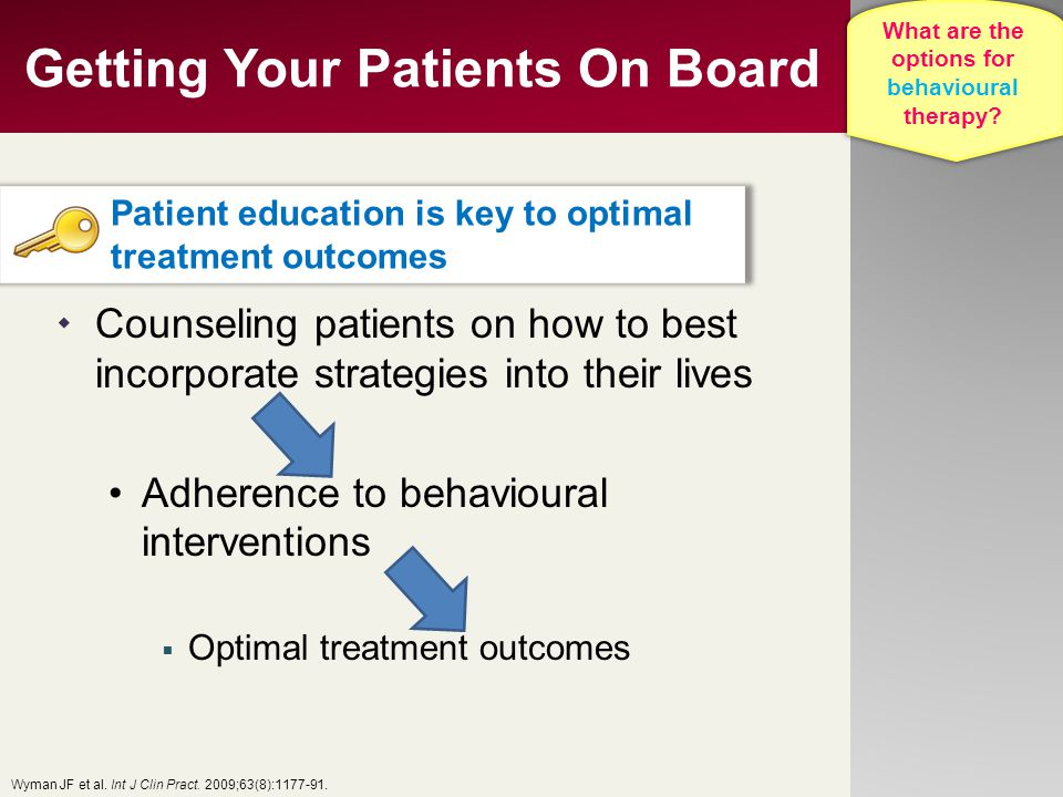 Getting Your Patients On Board