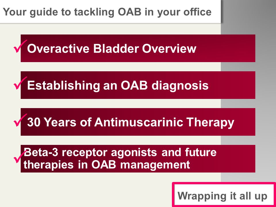 Overactive Bladder Overview