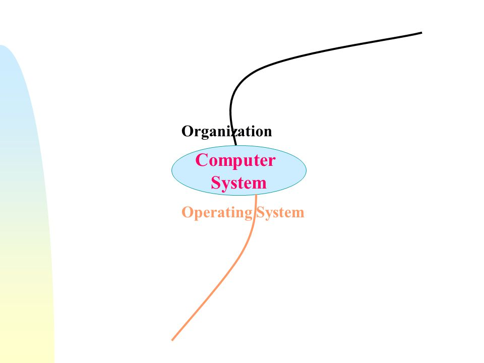 Organization Computer System Operating System