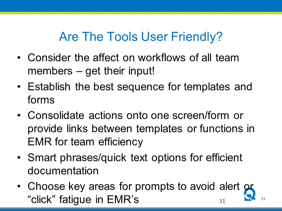 Are The Tools User Friendly