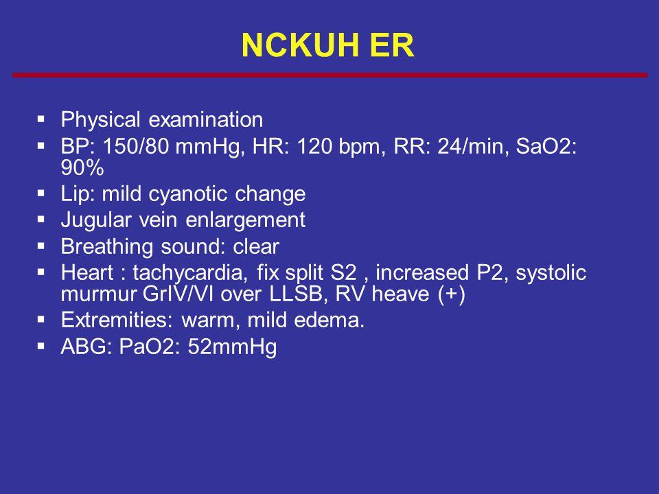 NCKUH ER Physical examination