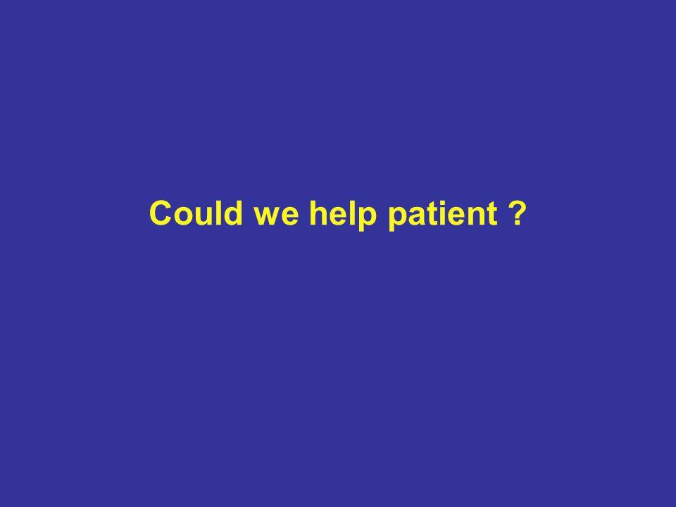 Could we help patient