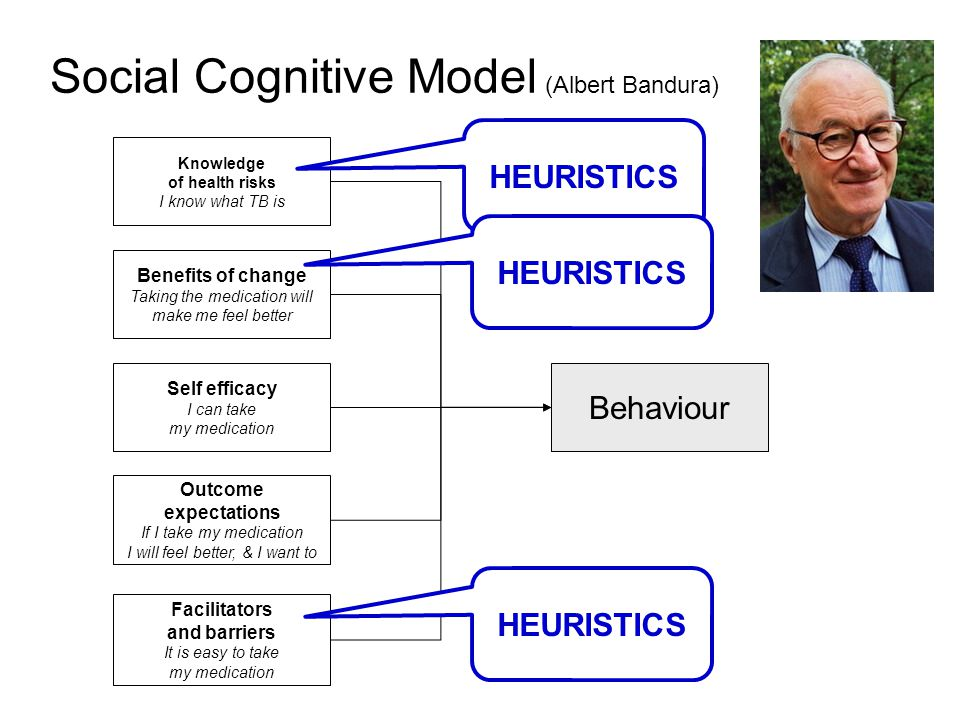 Social Cognitive Model (Albert Bandura)