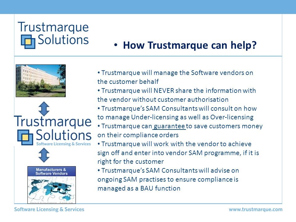 How Trustmarque can help