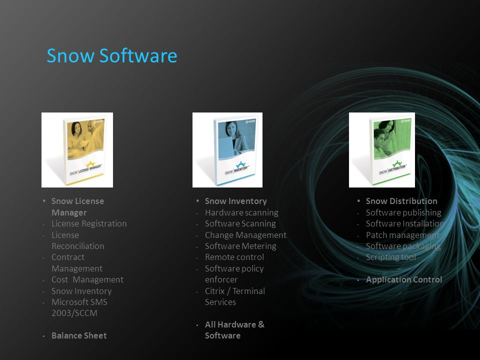 Snow Software Snow License Manager License Registration