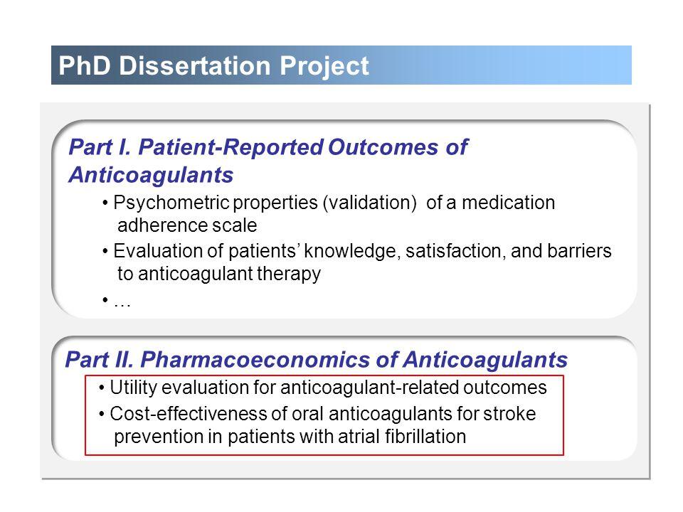 PhD Dissertation Project
