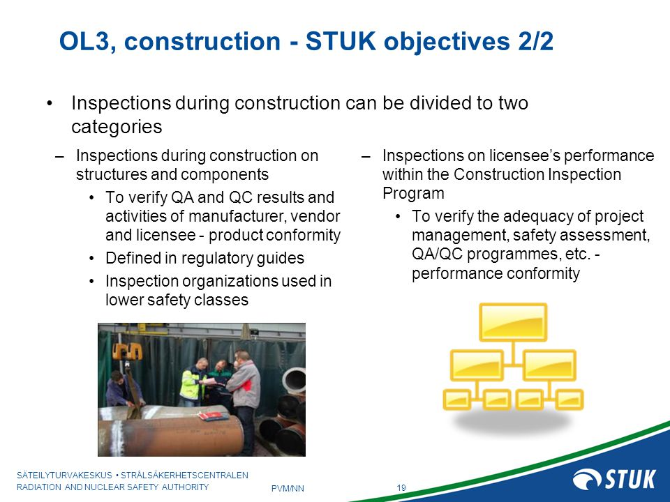 OL3, construction - STUK objectives 2/2