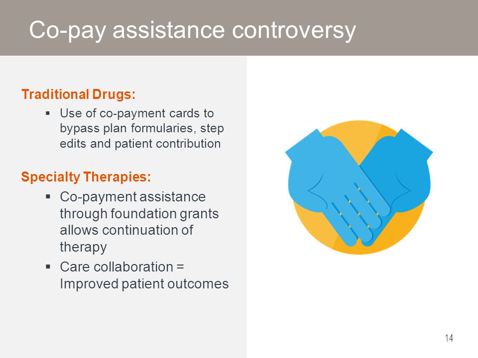 Co-pay assistance controversy