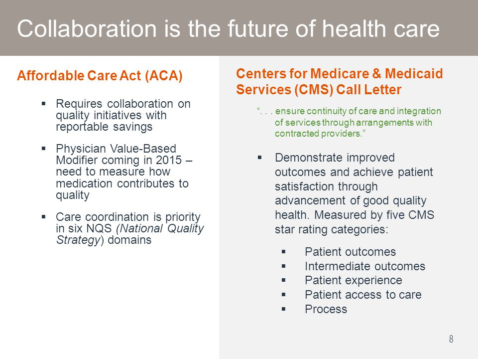 Collaboration is the future of health care