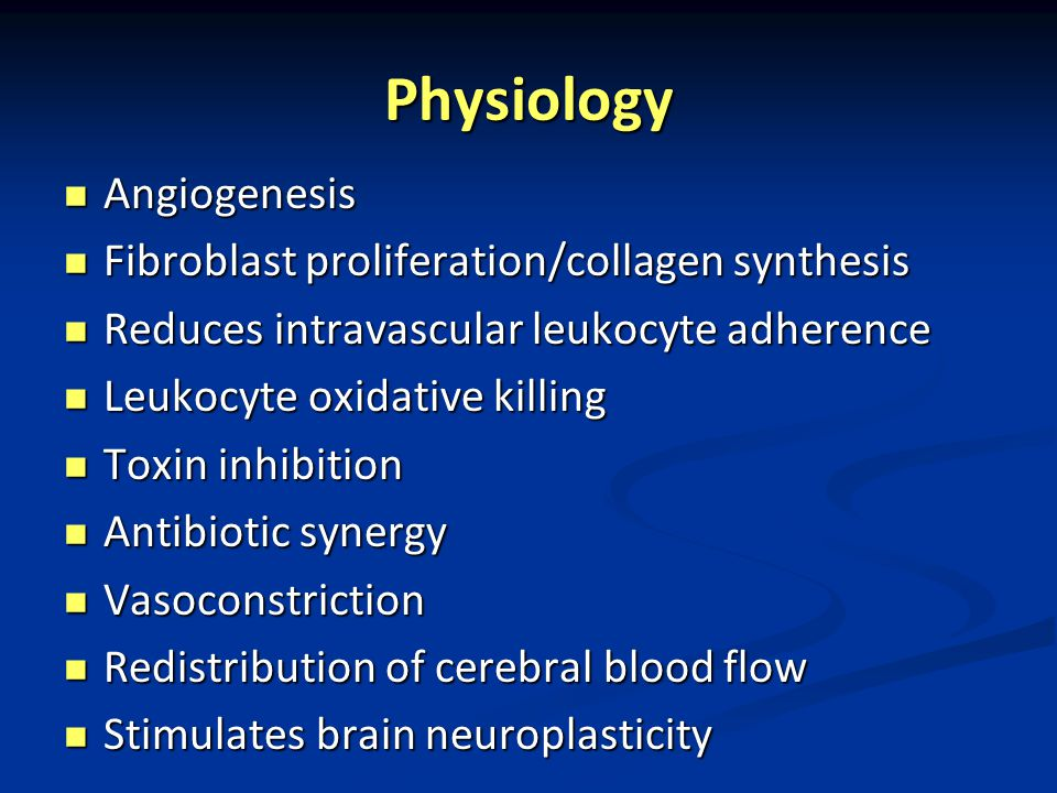 Physiology Angiogenesis Fibroblast proliferation/collagen synthesis
