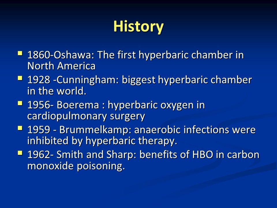 History 1860-Oshawa: The first hyperbaric chamber in North America