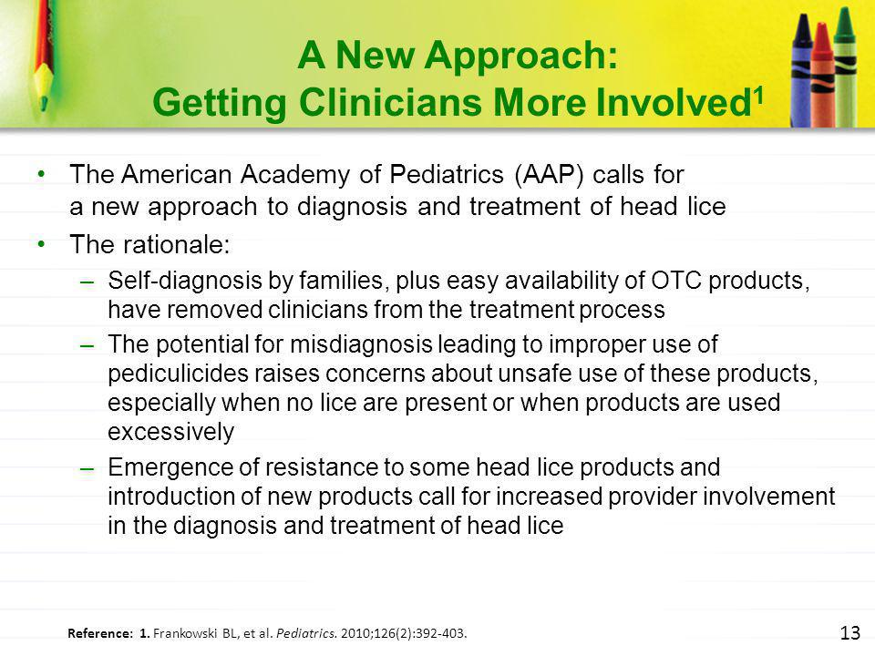 A New Approach: Getting Clinicians More Involved1