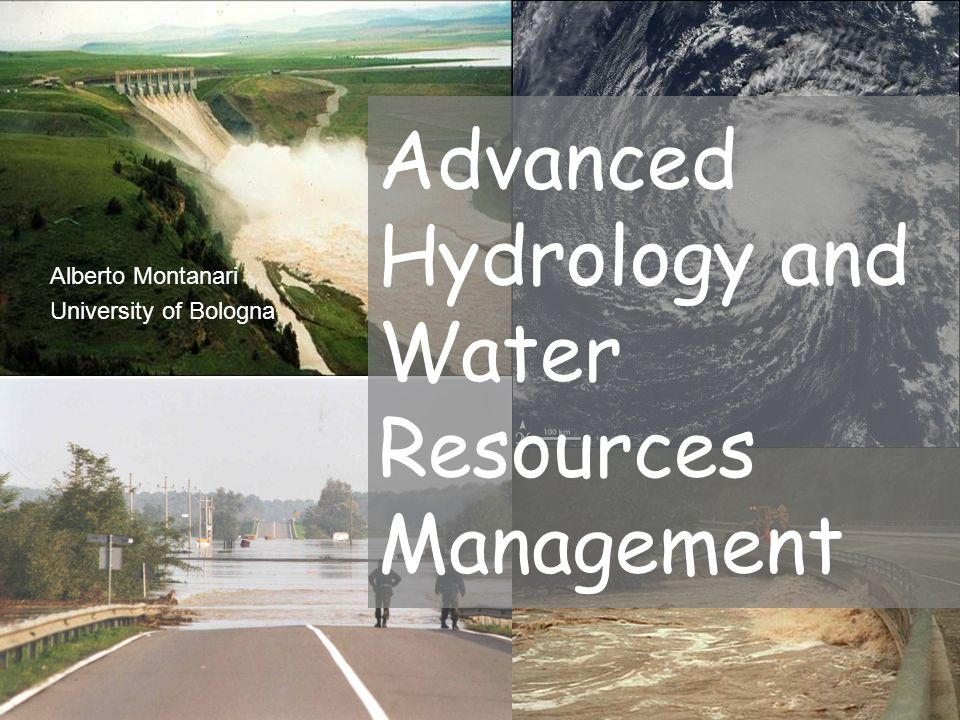 Advanced Hydrology and Water Resources Management