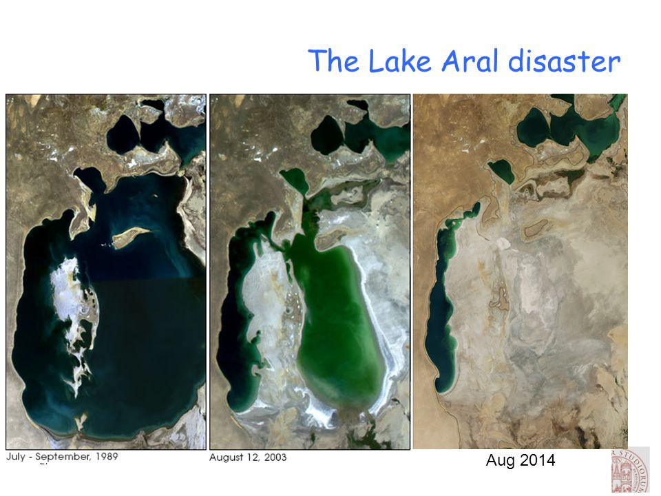 The Lake Aral disaster Aug 2014