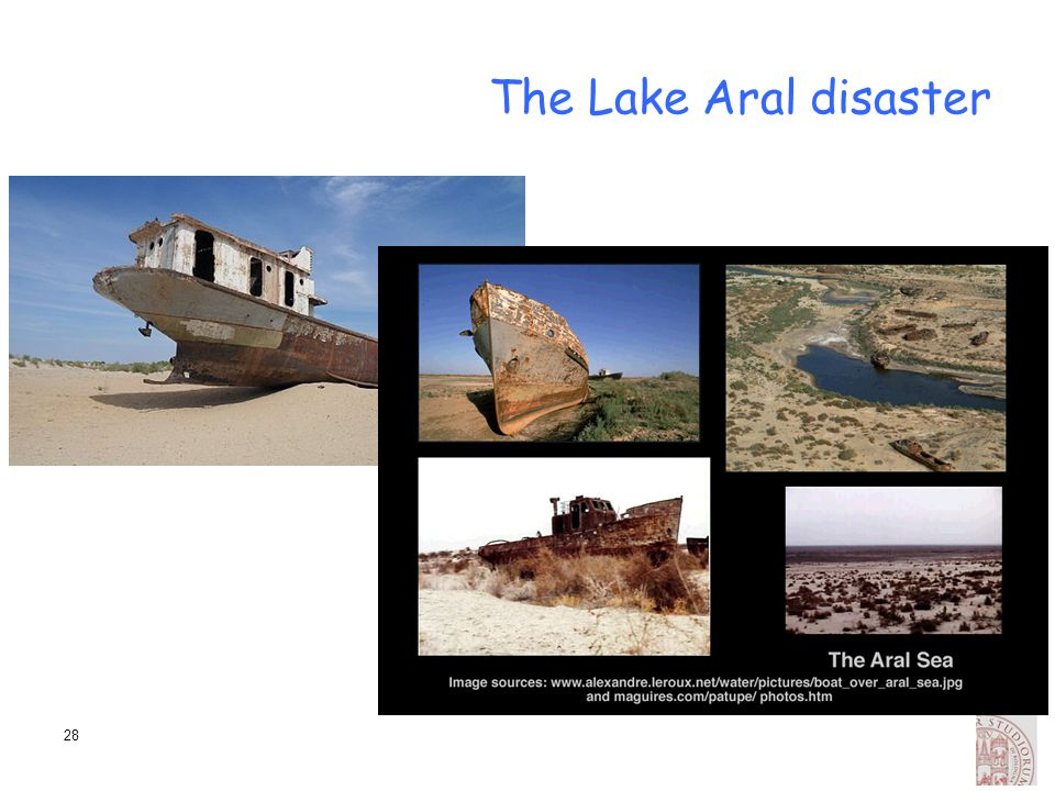 The Lake Aral disaster