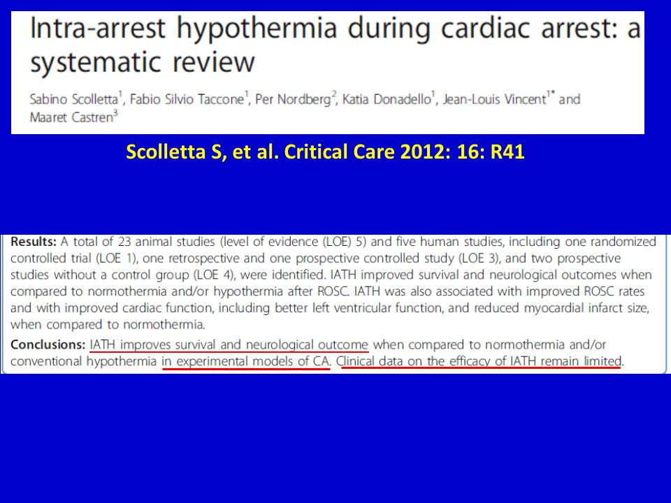 Scolletta S, et al. Critical Care 2012: 16: R41