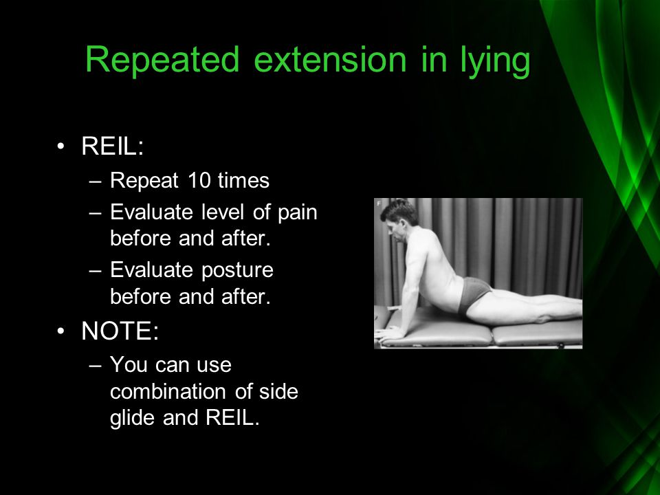 Repeated extension in lying