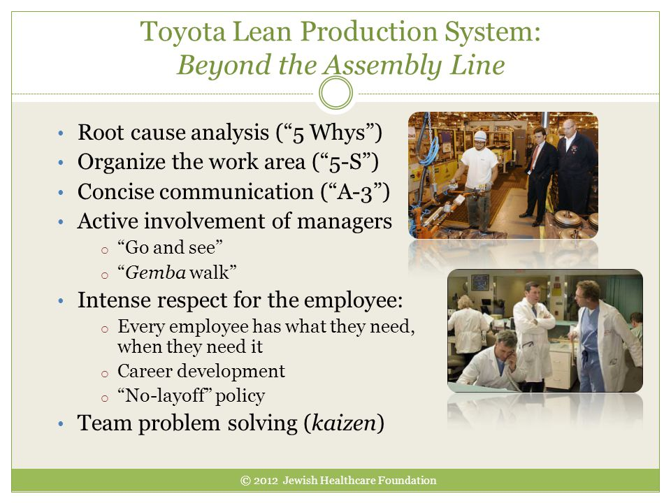 Toyota Lean Production System: Beyond the Assembly Line
