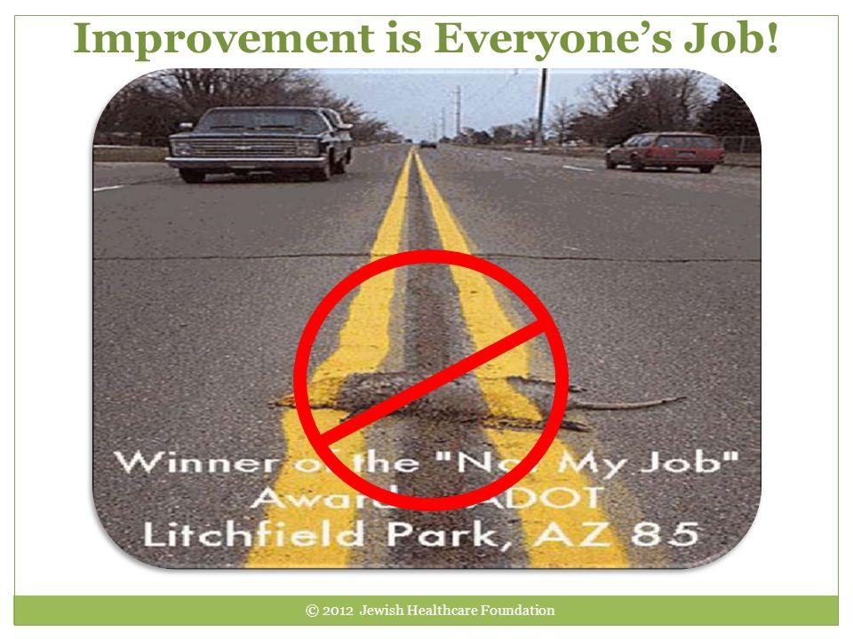 Improvement is Everyone's Job!