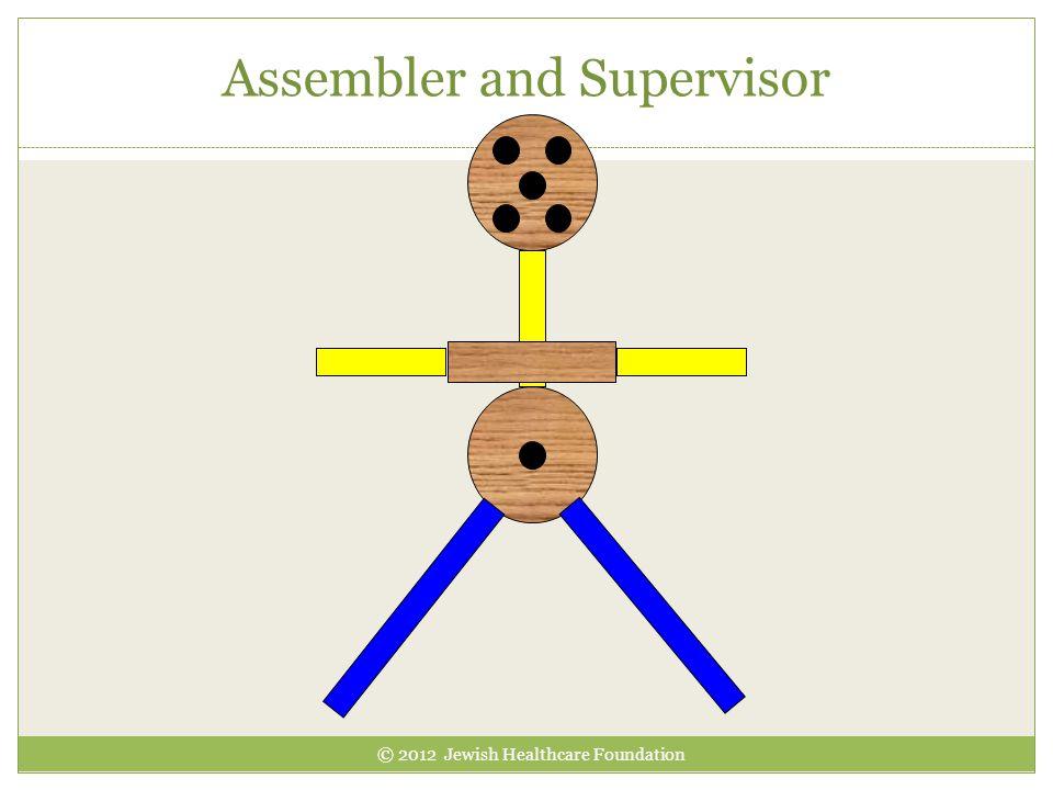 Assembler and Supervisor