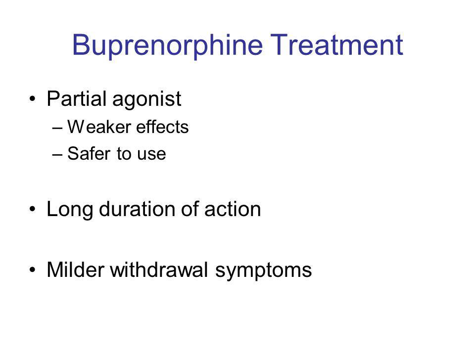 Buprenorphine Treatment