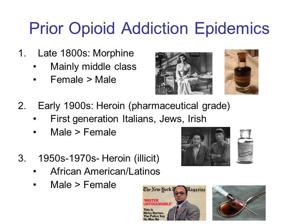 Prior Opioid Addiction Epidemics