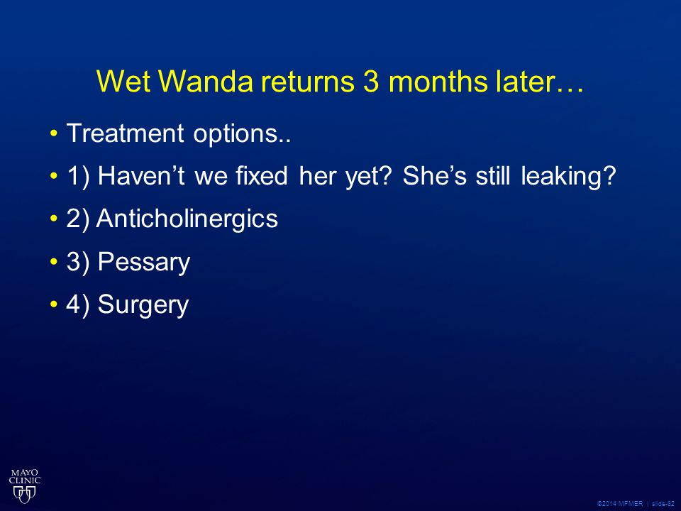 Wet Wanda returns 3 months later…
