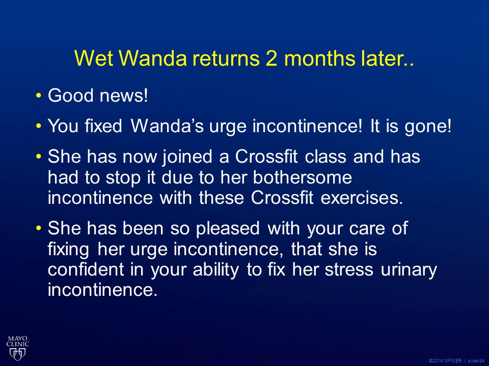 Wet Wanda returns 2 months later..