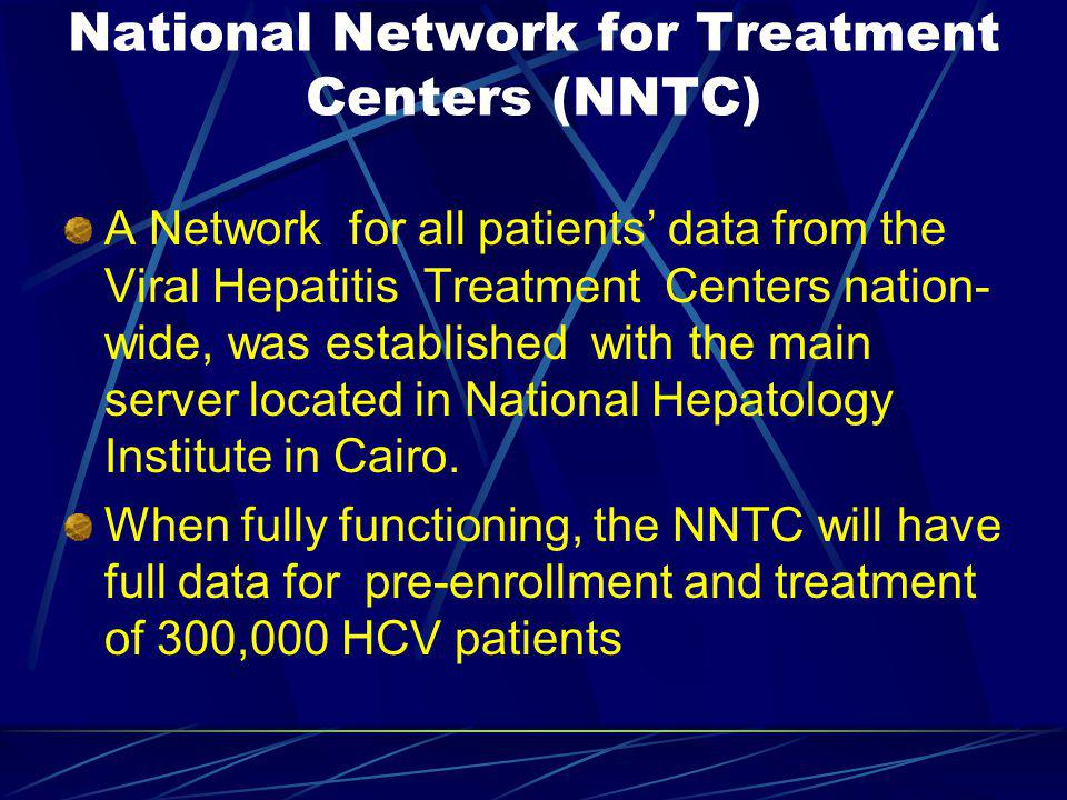 National Network for Treatment Centers (NNTC)