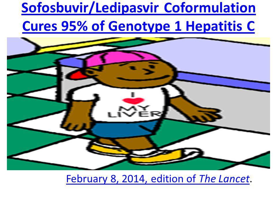 Sofosbuvir/Ledipasvir Coformulation Cures 95% of Genotype 1 Hepatitis C