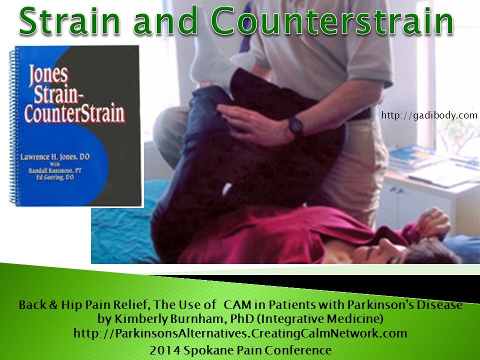 Strain and Counterstrain 2014 Spokane Pain Conference