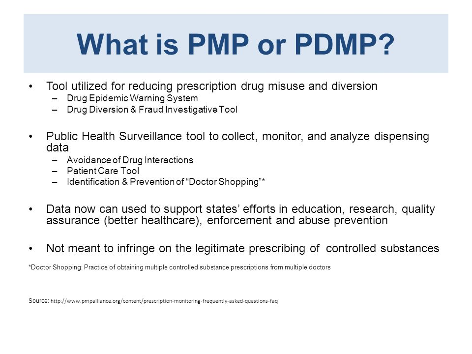 What is PMP or PDMP Tool utilized for reducing prescription drug misuse and diversion. Drug Epidemic Warning System.