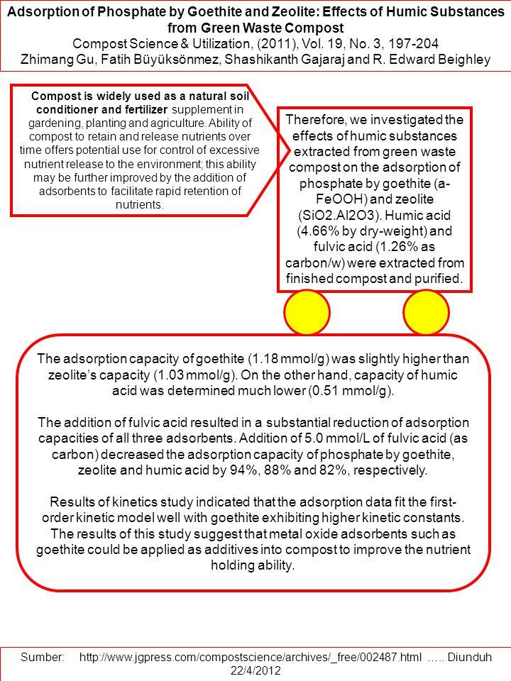 Compost Science & Utilization, (2011), Vol. 19, No. 3, 197-204