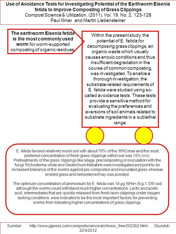 Compost Science & Utilization, (2011), Vol. 19, No. 2, 123-128