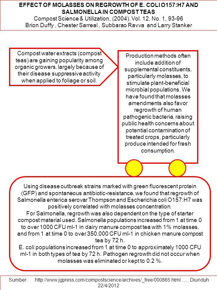 Compost Science & Utilization, (2004), Vol. 12, No. 1, 93-96
