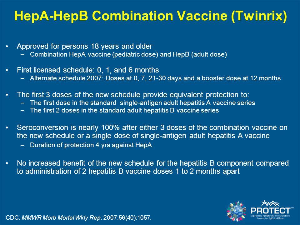 HepA-HepB Combination Vaccine (Twinrix)