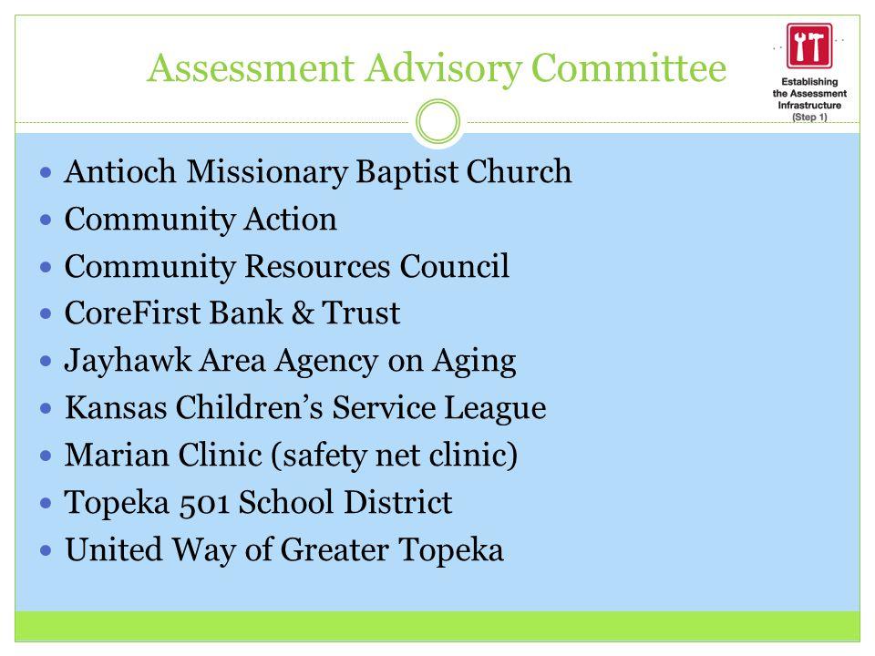 Assessment Advisory Committee