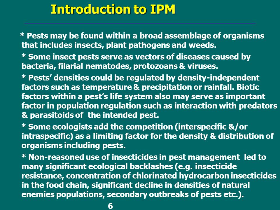 ecological backlashes Pesticide-induced stress in arthropod pests for optimized integrated pest management programs home annual review of entomology understanding of outbreak mechanisms is fundamental to optimize pest management and the consequent prevention of ecological backlashes due to pesticide use.