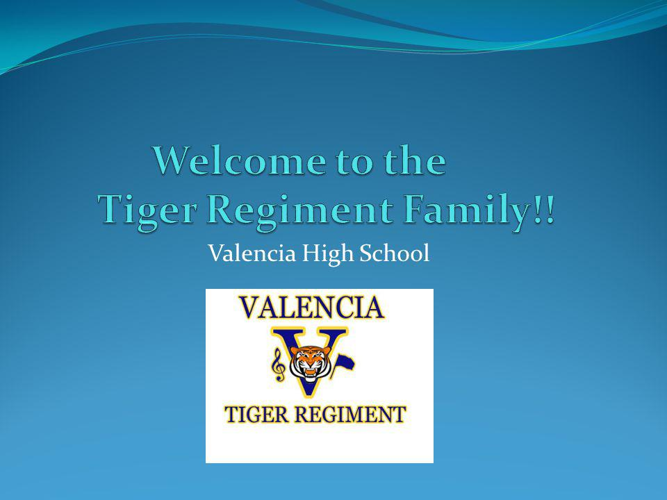 Welcome to the Tiger Regiment Family!!