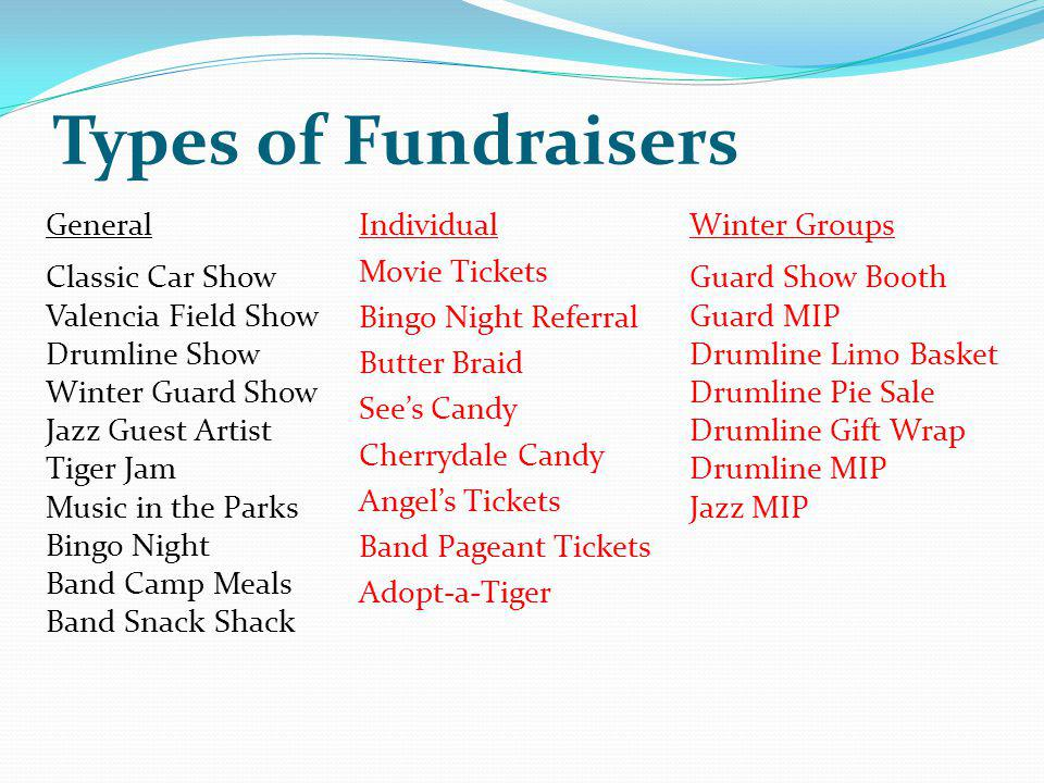 Types of Fundraisers General Classic Car Show Valencia Field Show