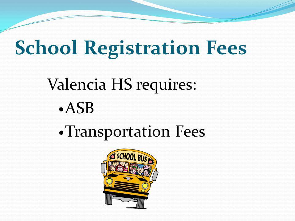 School Registration Fees