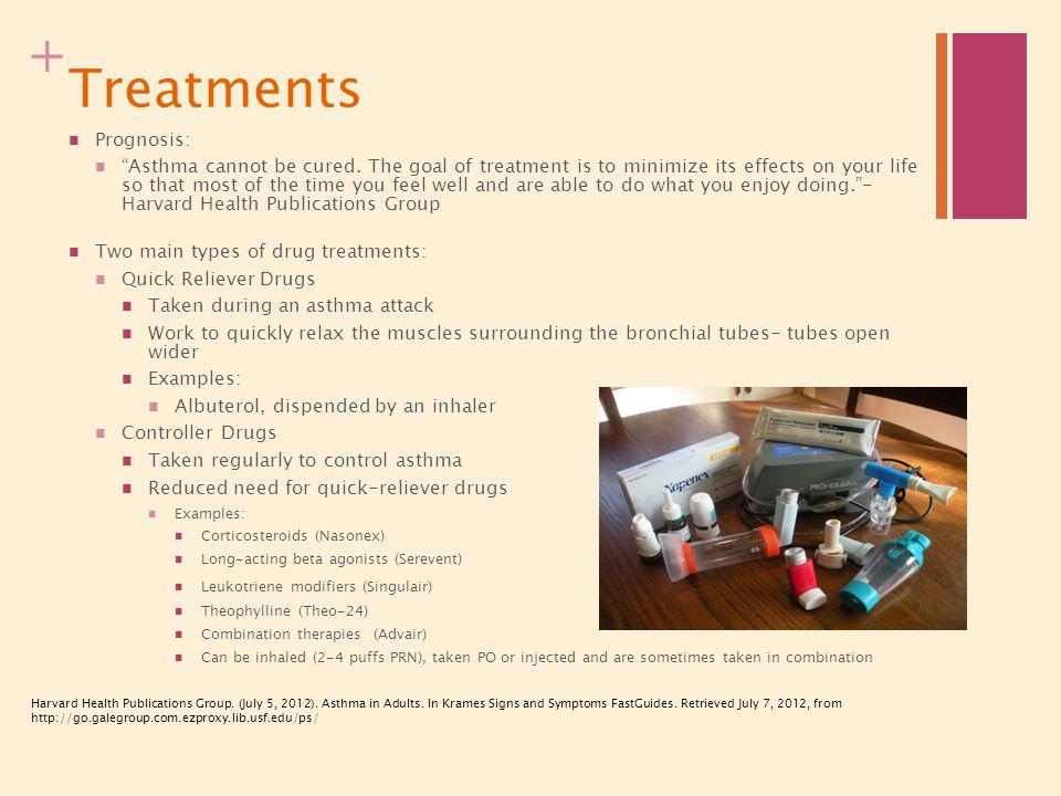 Treatments Prognosis: