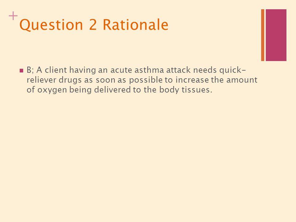 Question 2 Rationale