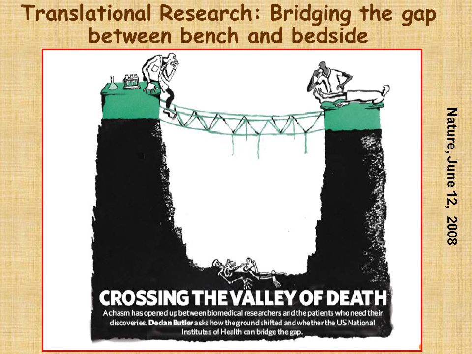 Translational Research: Bridging the gap between bench and bedside