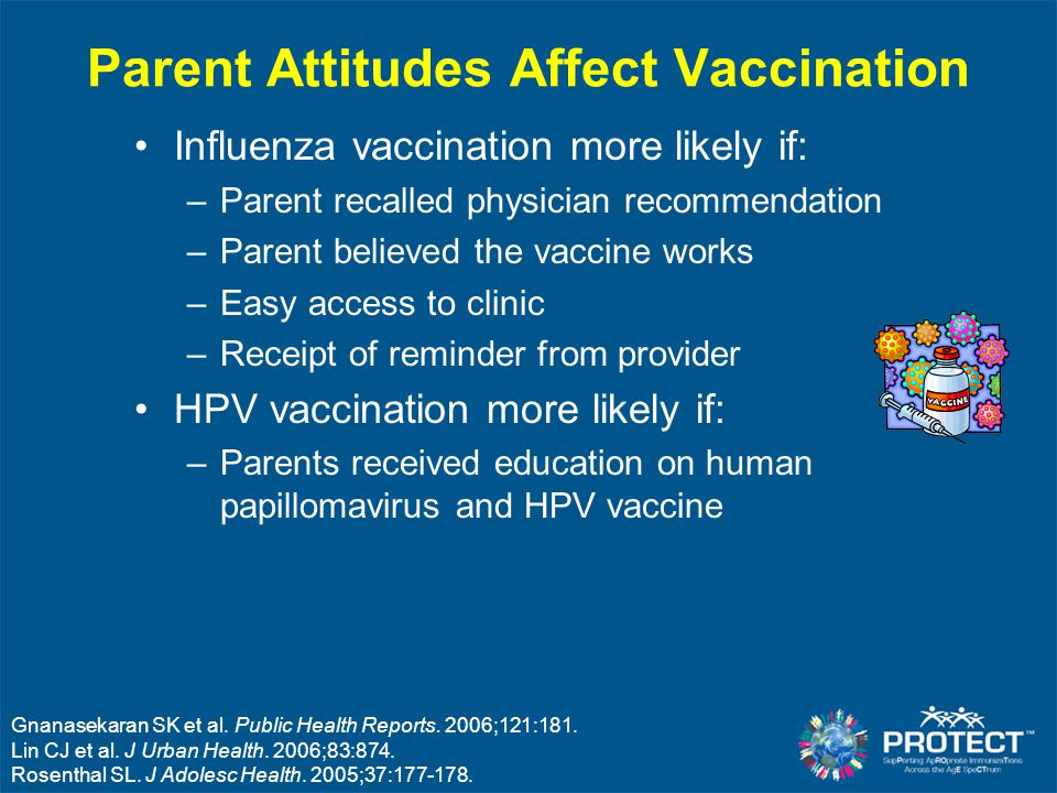 Parent Attitudes Affect Vaccination