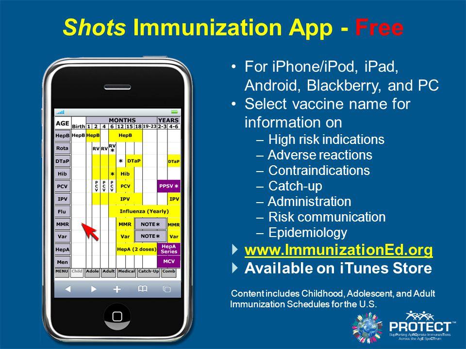 Shots Immunization App - Free