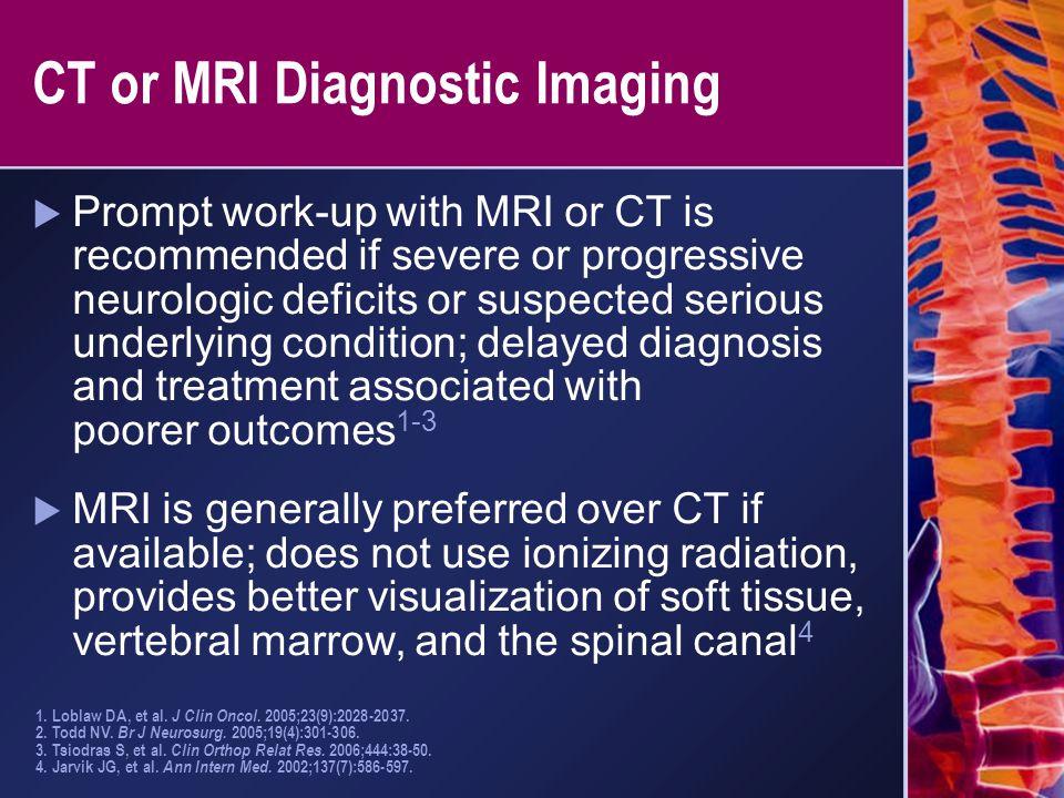 CT or MRI Diagnostic Imaging