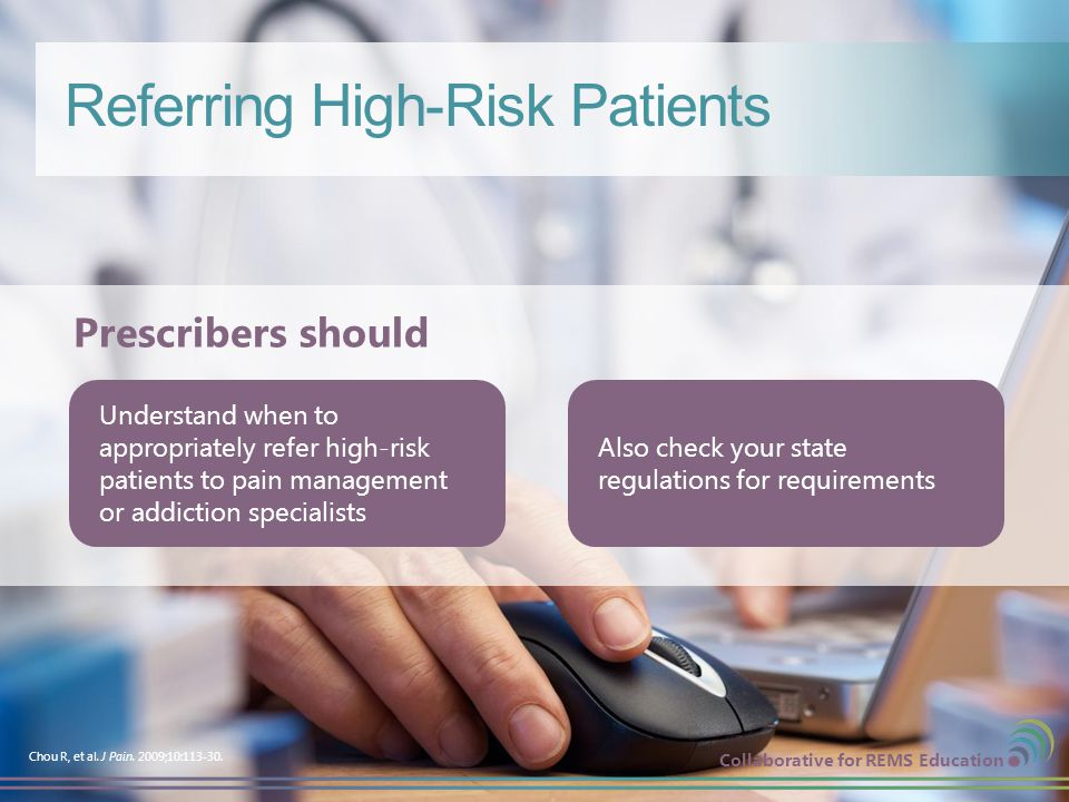 Referring High-Risk Patients